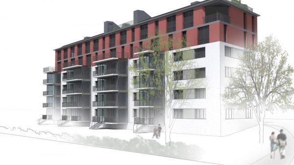 Bussigny-près-Lausanne – 50 appartements – 2016